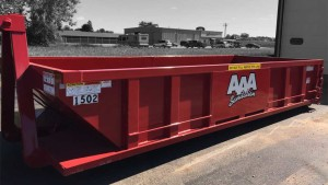 Roll of Dumpster Rental at AAA Sanitation