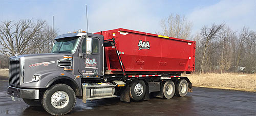 AAA Sanitation. Roll Off Dumpsters.